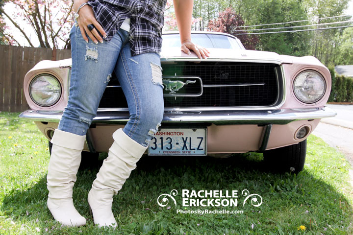 Rachelle Erickson Photographer, Seattle Photographer, Eastside Photographer, Portraits, Lifestyle Portraits, Spring, Mustang